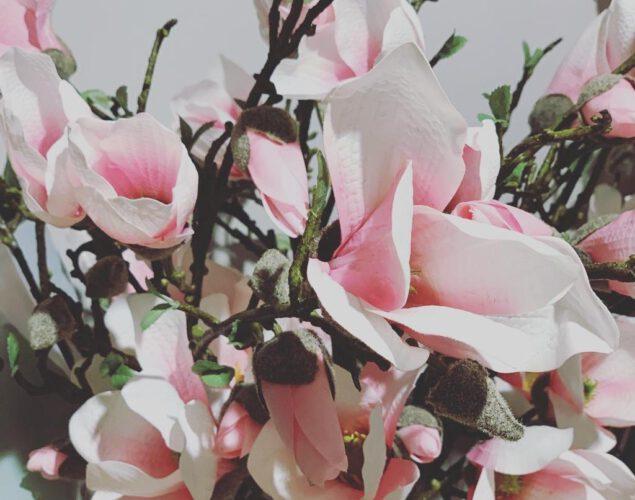 ons eigen label zijden bloemen is binnen!!!